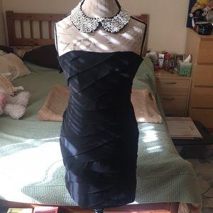 New! Black Mini Dress - Size L